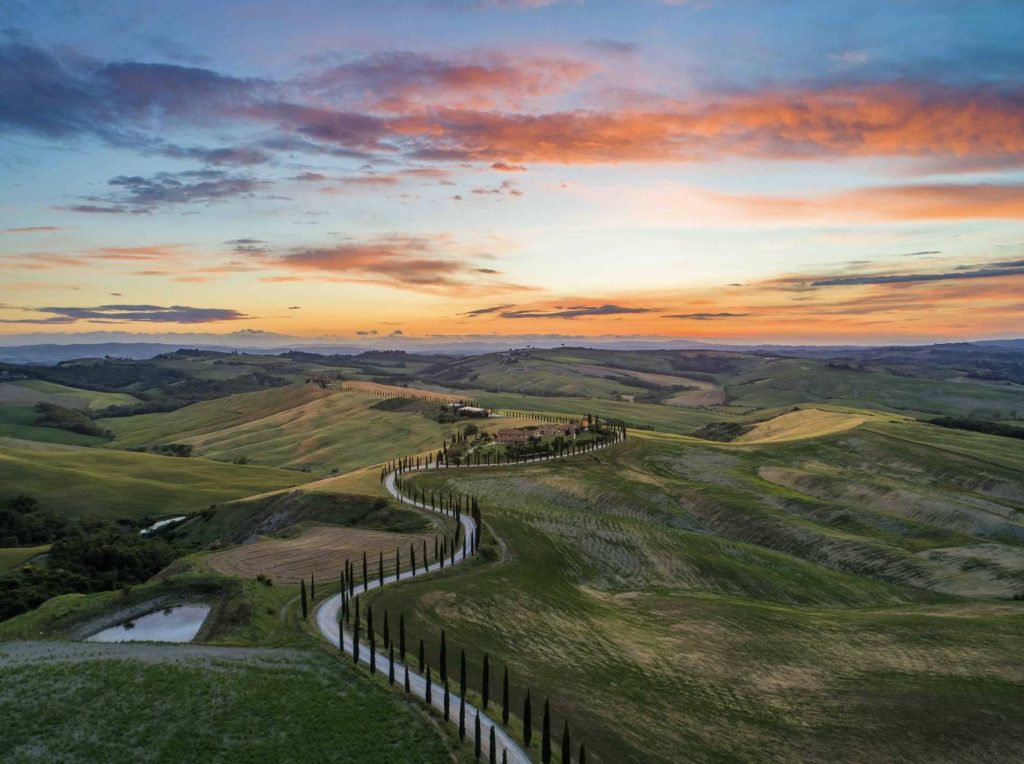 Exploring the Tuscany countryside is a top things to do in Tuscany