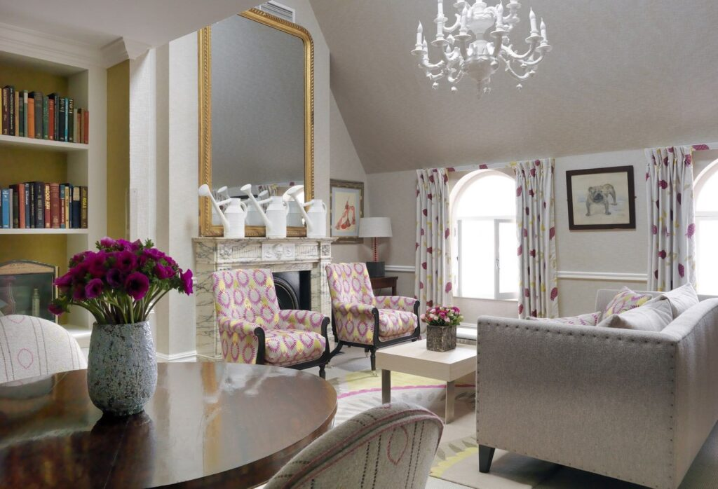 Covent Garden Hotel designer loft suite of one of the top Central London Boutique hotels